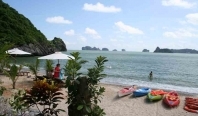 4 days 3 nights tour Halong bay - Cat Ba Monkey Island Resort - Kayaking on Lan Ha Bay